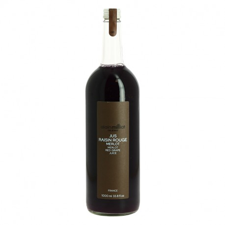 JUS DE RAISIN ROUGE MERLOT 1L MILLIAT