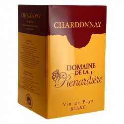 Domaine de la RENARDIERE Chardonnay BIB 10 litres
