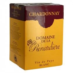 Domaine de la RENARDIERE Chardonnay BIB 5 litres