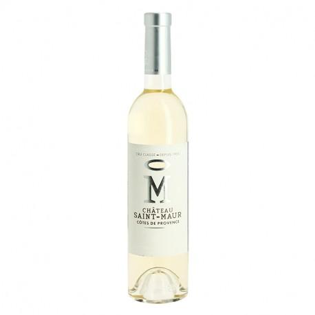 M du Château Saint MAUR Vin Blanc de Provence 50 cl