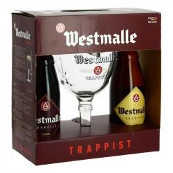 COFFRET WESTMALLE 2X33C cl+ 1 VERRE