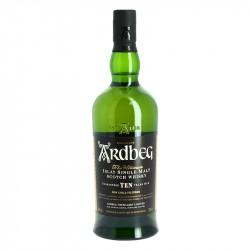 Whisky Ardbeg 10 ans Islay Single Malt 70 cl