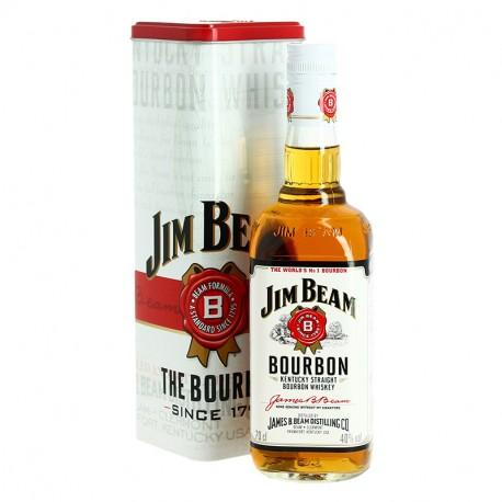 JIM BEAM WHITE Kentucky Straight Bourbon Whiskey 70 cl