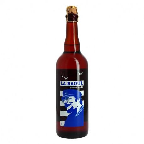 La RAOUL Bière BLONDE 75 cl