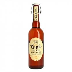 SECRET DES MOINES Bière Triple 75 cl
