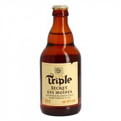 SECRET DES MOINES Bière Triple 33 cl