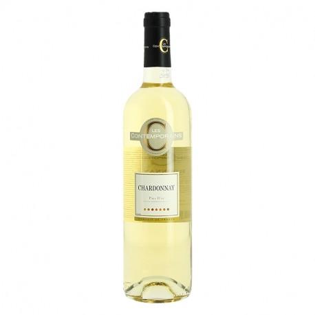 LES CONTEMPORAINS CHARDONNAY Vin Blanc de Pays d'Oc