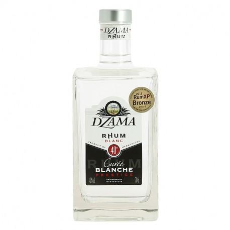 DZAMA CUVEE BLANCHE PRESTIGE Rhum Blanc de Madagascar 70 cl