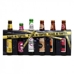 Coffret de BIERE HUMORISTIQUE Please be Tempted 6 x 33 cl