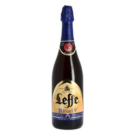 LEFFE RITUEL 9 ° 75 cl Bière Belge d'Abbaye