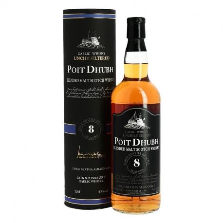 Poit Dhubh 8 ans Blended Malts Whisky Gaëlique