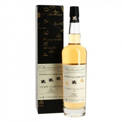 ROZELIEURES Tourbé 46° Whisky de Lorraine 70 cl