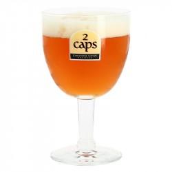 Verre à Bière 2 CAPS 33 cl