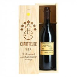 Chartreuse Jaune V.E.P 1L Coffret Bois
