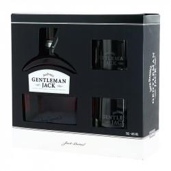 JACK DANIEL'S Gentleman Jack Coffret Cadeau + 2 Verres