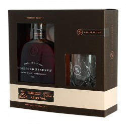 WOODFORD RESERVE Bourbon Coffret + 1 Verre