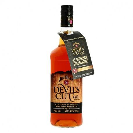 JIM BEAM Devil's Cut Kentucky Straight Bourbon Whiskey 70 cl