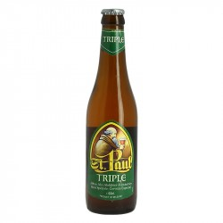 Bière belge blonde d'abbaye St Paul Triple 33 cl