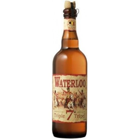 WATERLOO Bière Belge Blonde Triple 75 cl
