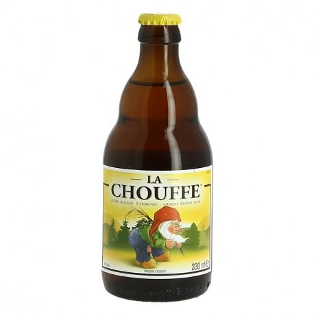 LA CHOUFFE Bière Belge Blonde des Ardennes 33 cl