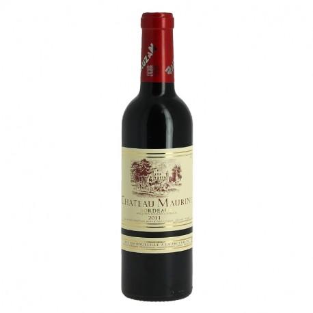 Château Maurine Bordeaux Rouge Boisé 37.5 cl Demi Bouteille