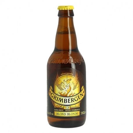 GRIMBERGEN BLONDE Bière Belge d'Abbaye 33 cl