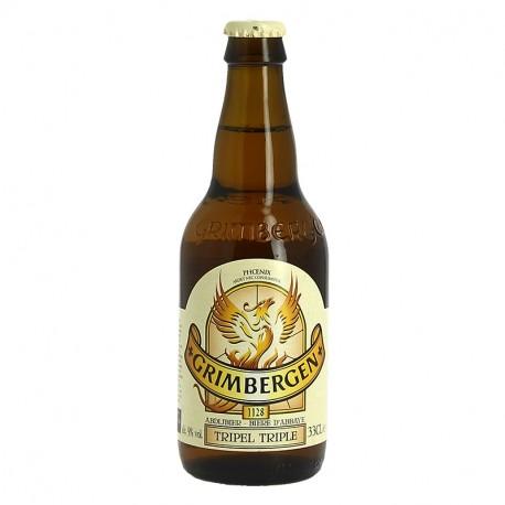GRIMBERGEN TRIPLE Bière Belge d'Abbaye 33 cl