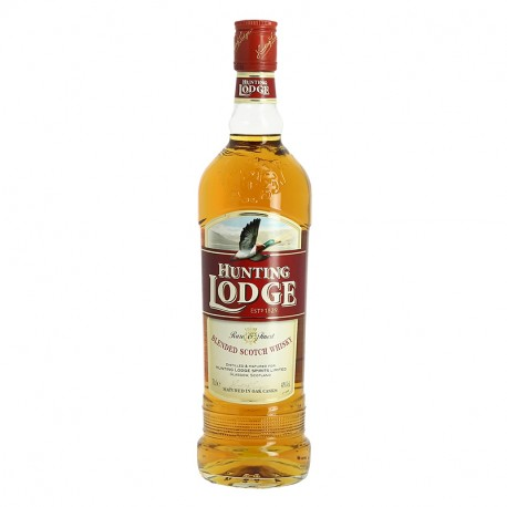 HUNTING LODGE Blended Scotch Whisky 70 cl