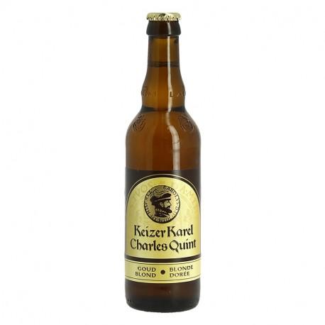 CHARLES QUINT KEIZER KAREL Bière Blonde Dorée 33 cl