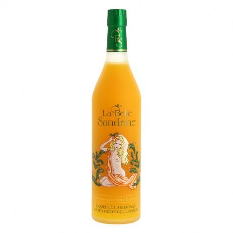 LA BELLE SANDRINE Liqueur à l'Armagnac et aux Fruits de la Passion 70cl