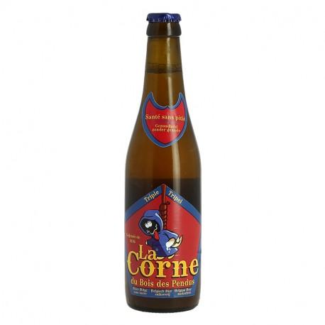 La CORNE du Bois des Pendus Bière Triple Belge  33 cl
