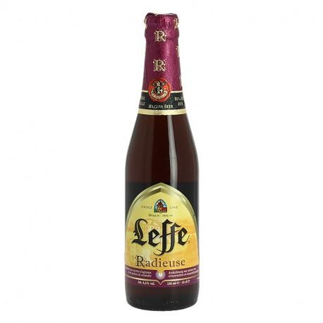 Bière belge d'abbaye Leffe Radieuse 33cl