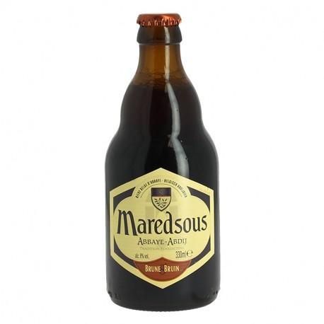 Bière Maredsous Brune 8° 33cl