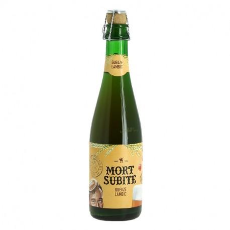 Bière MORT SUBITE GUEUZE 37.5cl Bière Belge Lambic