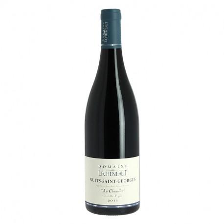 """Nuits Saint Georges Vieilles Vignes """" Au Chouillet """" Domaine Lecheneaut"""