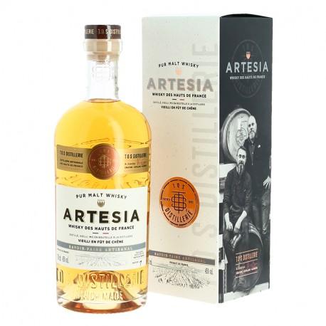 Whisky ARTESIA Whisky Pur Malt des Hauts de France 70 cl
