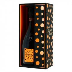 Champagne Veuve Clicquot La Grande Dame 2012 Coffret Luxe par YAYOI KUSAMA