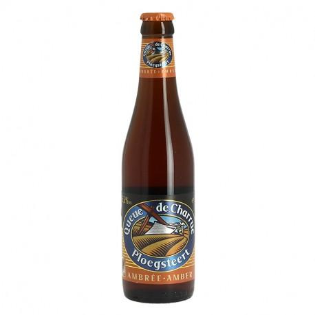 BIERE QUEUE DE CHARRUE Bière Belge AMBREE 33 cl