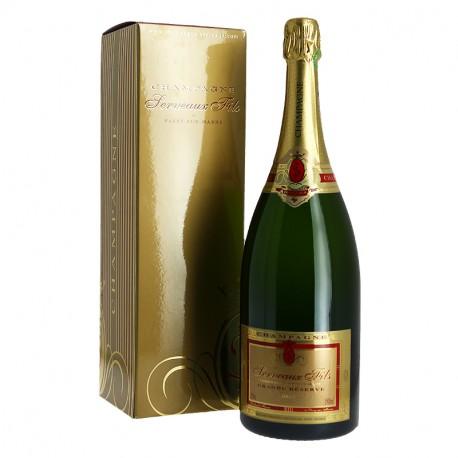 Champagne Serveaux Brut Magnum de Champagne Carte d'OR 1.5L