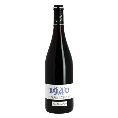 BEAUJOLAIS VILLAGES Vin Rouge DUPRE VIGNES de 1940
