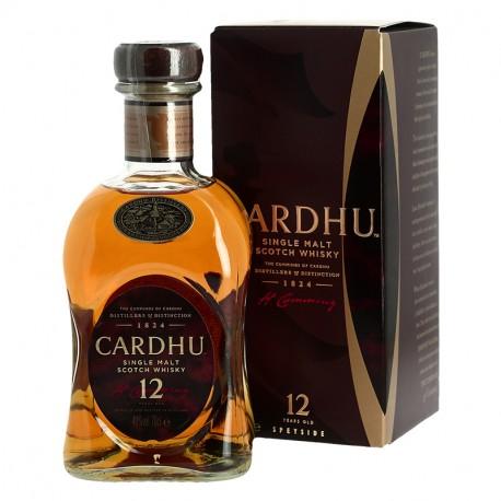CARDHU 12 ans Whisky Single Malt Speyside
