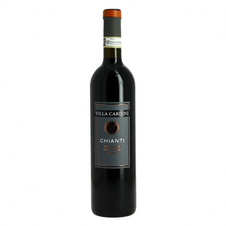 CHIANTI DOC VILLA CARDINI Vin Rouge d'Italie