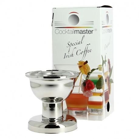 Cocktailmaster Aspect Métal Outil pour Irish Coffee et Cocktails