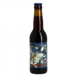 NOSTRADAMUS bière belge brune  33 cl Brasserie Caracole