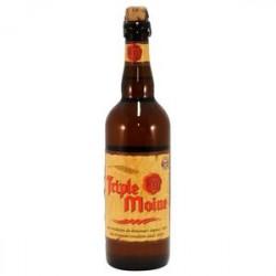 Bière belge blonde Triple Moine 75cl