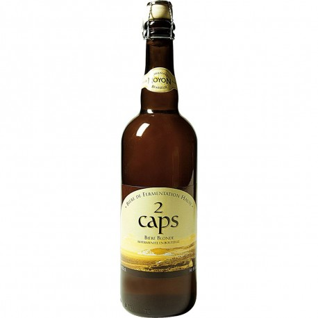 Bière des 2 caps Blonde 75 cl
