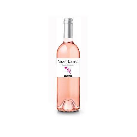 Vigné Lourac vin rosé Syrah Cabernet