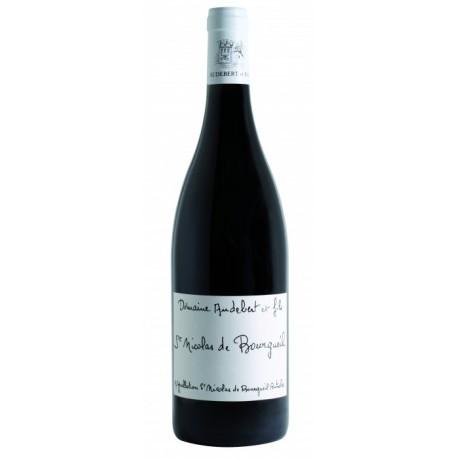 Saint Nicolas de Bourgueil Vin Rouge du Domaine Audebert et Fils