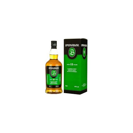 Springbank 15 ans Campbeltown Whisky
