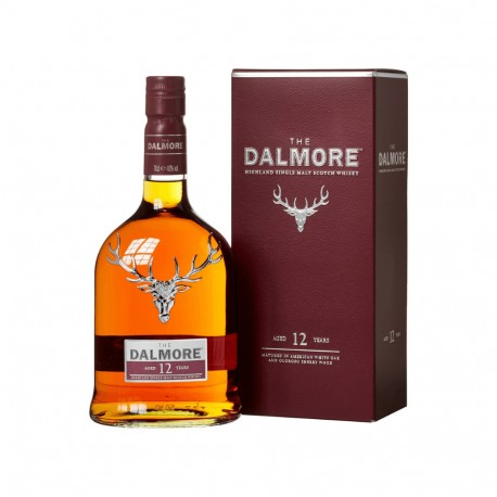 DALMORE 12 Ans Whisky Highlands Whisky fruité 70 cl